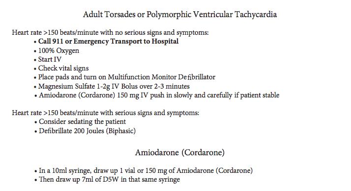 7928999_orig Adult Torsades /Polymorphic Ventricular Tachycardia
